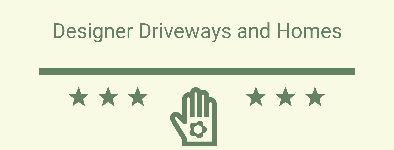 Designer Driveway Advertisements