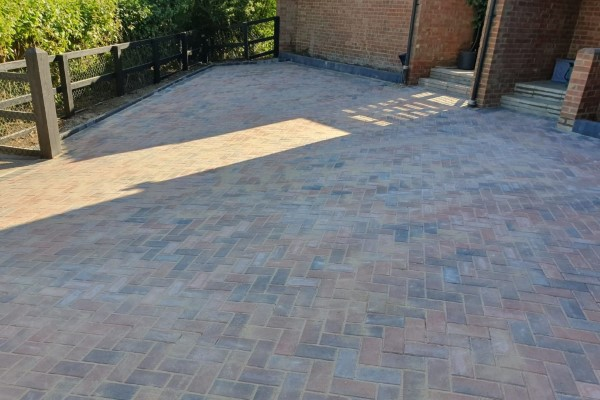 Block Paved Driveway by by JSM Drives and Patios