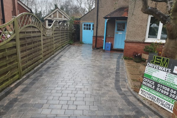 Tegula paving by by JSM Drives and Patios