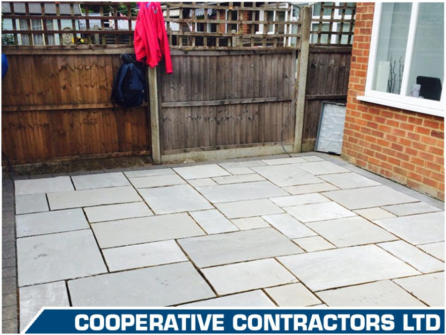 Patio and Driveways by Co-Operative Contractors LTD
